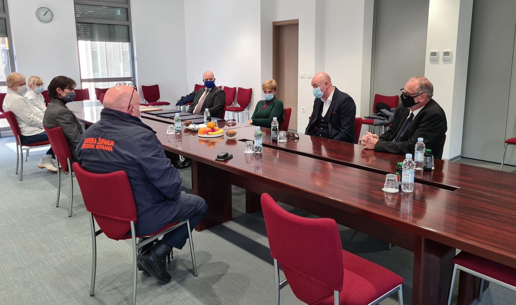 Sportska Hrvatska Sastanak za rezime Poreca: »Judo organizacija u Porecu je primjer svima u sportu«
